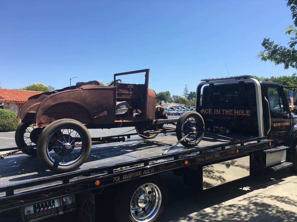 Some classic vehicles are waiting to be restored, and if you have one of those that needs to be moved, Sacramento Ace Towing has the right towing equipment to do the job.