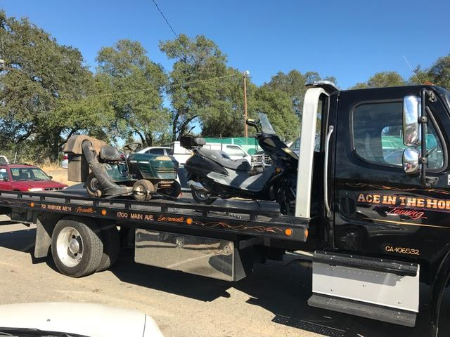 Scooters, mowers, Harleys and golf carts are some of the unique vehicles we have towed over the last month or so. If you have a unique vehicle or object you need moved, we are ready to help.