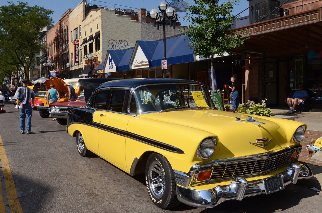 Beautiful Classic Cars. 1956 Chevy Bel Air